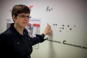 Portrait de Hélène Birraux , chef du projet ACTE