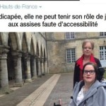 Tribunal pas accessible