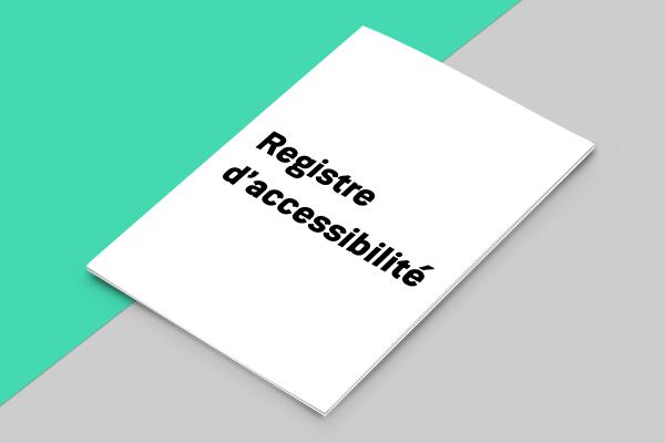 Le nouveau registre public d'accessibilité