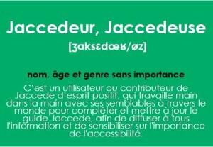 jaccedeur définition, accessibilité erp
