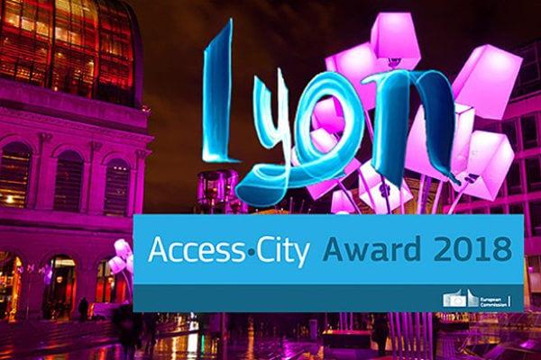 access city award - Lyon 2018