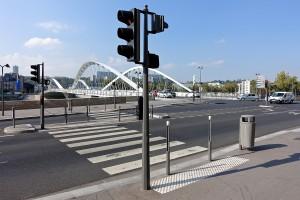 traversée piétonne Lyon