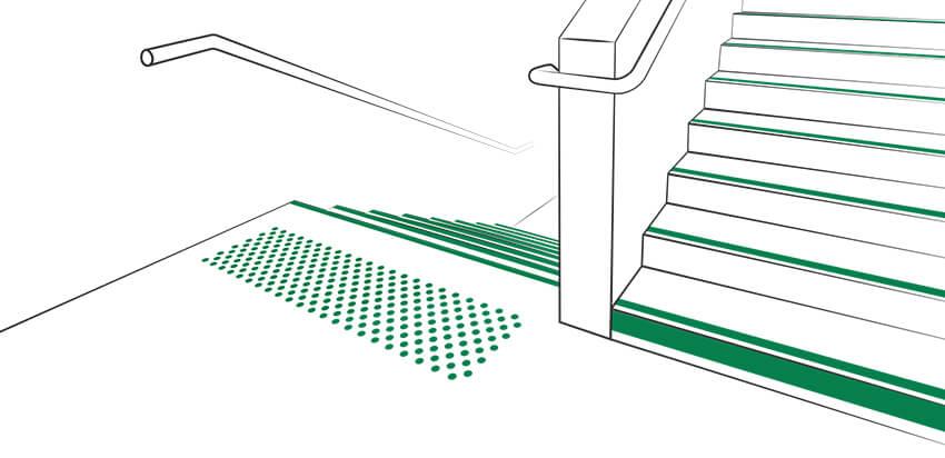 Sécurisation des escaliers, Okeenea