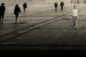 L'enfer des places - Série noire pour canne blanche