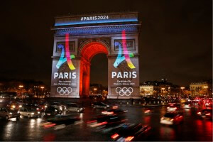 Paris 2024, photo arc de Triomphe (c) La Tribune