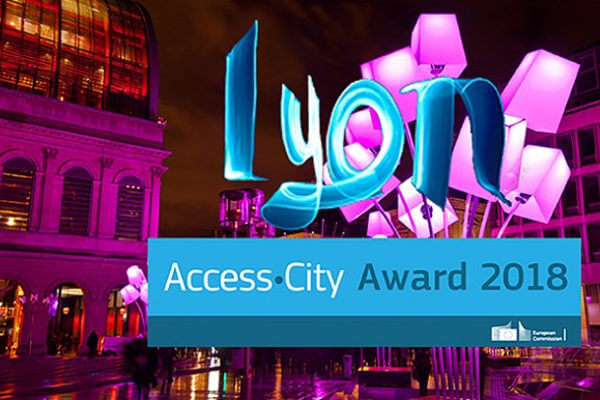 access city award - Lyon 2018