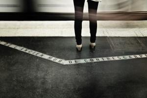 bande podotactile métro