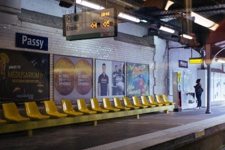 information voyageur métro de Paris pour l'accessibilité des personnes sourdes