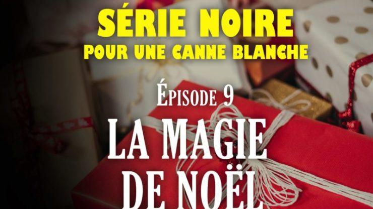 Série Noire pour Une Canne Blanche la magie de noel
