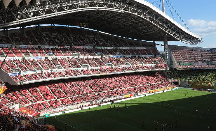 Stade au Japon