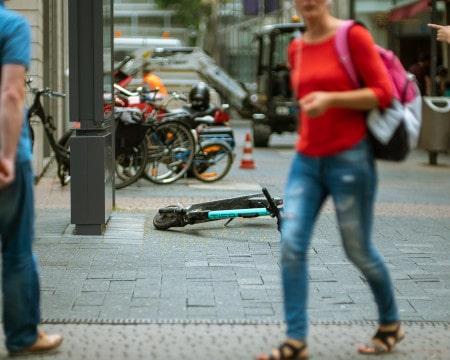 trottinettes mobilité accessibilité voirie