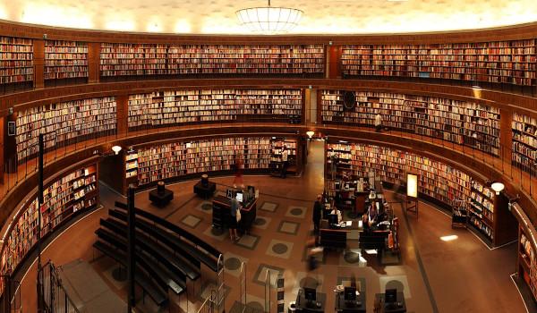 Salle de bibliothèque
