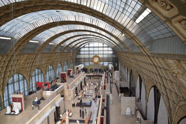 Intérieur du musée d'Orsay