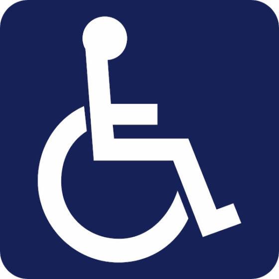 Logo du handicap moteur