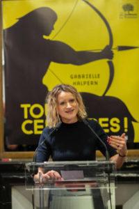 Gabrielle Halpern, en conférence
