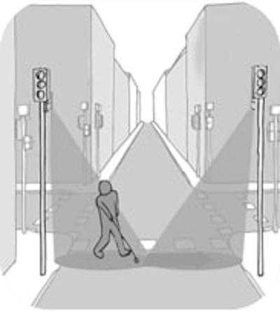 Schéma d'un couloir sonore